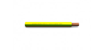 Cables - CABLE CONEXION H07V-K 1X1.5 AMARILLO / VERDE