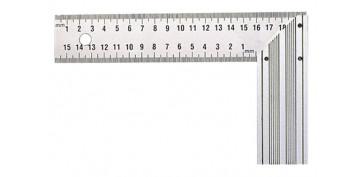 Otros instrumentos de medida - ESCUADRA BASICA INOX 300 MM