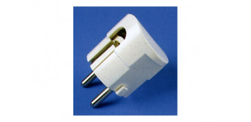 Material instalacion electrico - CLAVIJA 10 A T.T. LAT. (BLIST)