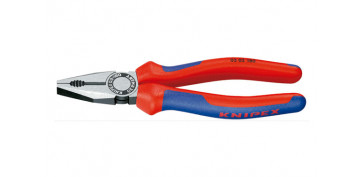 Alicates y tenazas - ALICATE UNIVERSAL KNIPEX 180MM 03 02 180