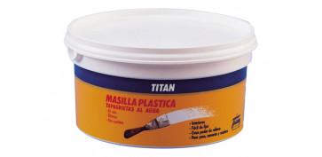 Masillas y siliconas - MASILLA PLASTICA 750GR