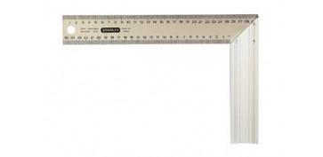 Otros instrumentos de medida - ESCUADRA CARPINTERO INOX-ALUMINIO 300 MM