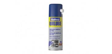 Engrase y lubricacion industrial - LUBRICANTE SINTETICO QUILUBE SPRAY CON PTFE 400 ML