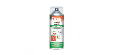 Aerosol o spray - BARNIZ PARA METALES 200 ML SPRAY TRANSPARENTE