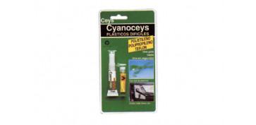 Adhesivos - ADHESIVO CYANOCEYS PLASTICOS