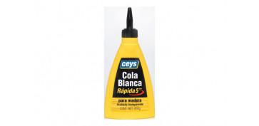 Adhesivos - COLA BLANCA RAPIDA BIBERON 250 GR