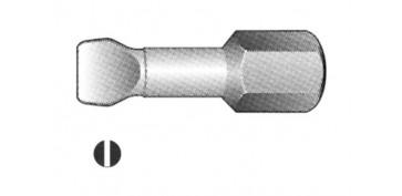 PUNTA ATORNILLAR PLANA S.TORSION 0.5X4.0 (3 UNIDADES)