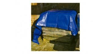 Toldos y plasticos protectores - TOLDO POLIETILENO STANDARD 90GR 2 X3 M AZUL / VERDE