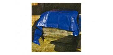 Toldos y plasticos protectores - TOLDO POLIETILENO STANDARD 90GR 6 X10 M AZUL/ VERDE