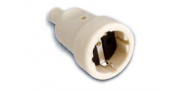 Material instalacion electrico - BASE AEREA BIPOLAR TT.LAT.16A BLANCO 250V