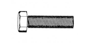 TORNILLO CABEZA HEXAGONAL M-5X20 MM