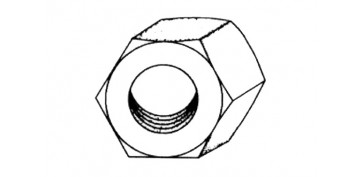 TUERCA HEXAGONAL DIN-934 M-3
