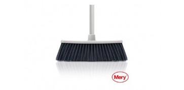 Utiles de limpieza - ESCOBA SUAVE SIN MANGO 32X8CM