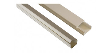 Material instalacion electrico - CANALETA ADHESIVA BLANCA 2 M 9X 5MM