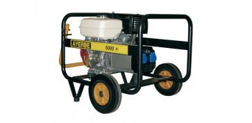 Generadores gasolina - GENERADOR AY-5000 HONDA 9HP 5 KVA
