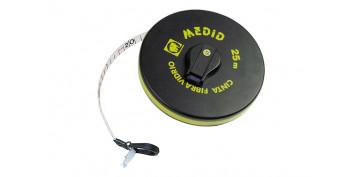 Medidores de distancias - CINTA METRICA FIBRA VIDRIO 50 MT