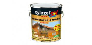 Proteccion y tratamiento para madera - SOL LASUR SATINADO INCOLORO 5 L
