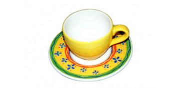 TAZA CAFE CON PLATO AIRONE SUNSHINE