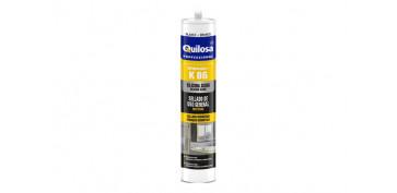 Masillas y siliconas - SILICONA ORBASIL K-86 300 ML BLANCA