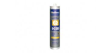 Masillas y siliconas - SILICONA ORBASIL K-86 300ML TRANSPARENTE