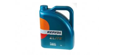 Productos para el automovil - ACEITE REPSOL ELITE SUPER 20W50 5 L.