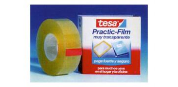 Adhesivos - CINTA ADHESIVA PRACTIC FILM TESA 66X15