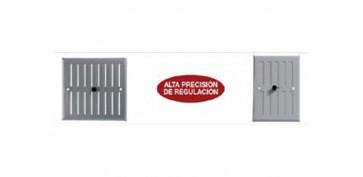 Ventiladores y extractores - REJILLA REGULABLE BLANCO FEPRE 0154/17X25