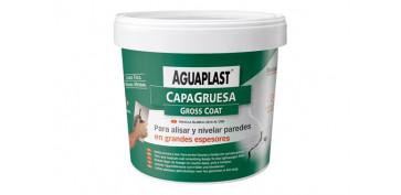 Masillas y siliconas - AGUAPLAST CAPA GRUESA 1 KG/PASTA
