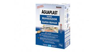 Masillas y siliconas - AGUAPLAST SUPER REPARADOR 1 KG/POLVO