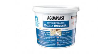 Masillas y siliconas - AGUAPLAST SUPER REPARADOR 1 KG/PASTA
