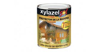 Proteccion y tratamiento para madera - SOL LASUR SATINADO CAOBA 750 ML