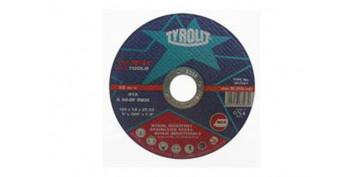 Discos - DISCO CORTE INOX STANDARD 115X1.6X22 PLANO