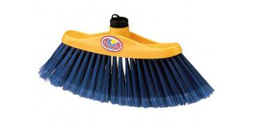 Utiles de limpieza - ESCOBA MELOSA SIN MANGO 24X4,6CM