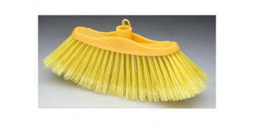 Utiles de limpieza - ESCOBA UNO SIN MANGO 23X4,5CM