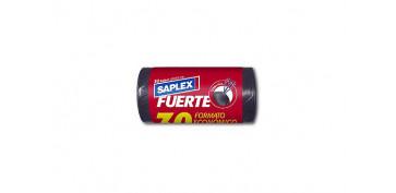 Utiles de limpieza - BOLSA BASURA CIERRA FACIL 30L (30U) 55X55CM FUERTE