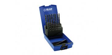 Juegos y kits para herramientas - BROCA METAL STANDARD CILINDRICA HSS DIN338N JUEGO 1466-1 A 10 MM 19 UNIDADES