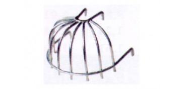 Materiales de construccion - COLADOR AZOTEA ALAMBRE NEGRO 1/2 BOLA (MORRION PARA HOJAS)