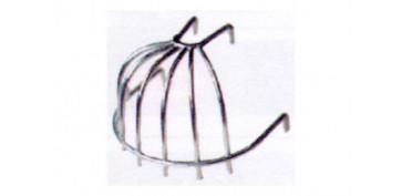 COLADOR AZOTEA ALAMBRE NEGRO 1/4 BOLA (MORRION PARA HOJAS)