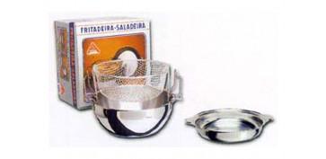 FREIDORA INOX 24 CM 2,8L