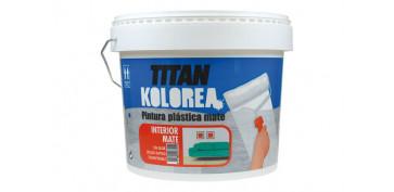 Pintura para paredes, techos y suelo - PINTURA PLASTICA MATE INTERIOR 12KG