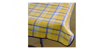 Textil y costura - MANTEL CUADRADO 140X140CM SURTIDO