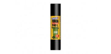 Utiles de limpieza - FUNDA CONTENEDOR 240 L (5U) 120X135