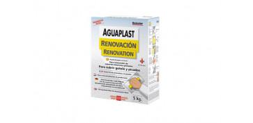Masillas y siliconas - AGUAPLAST RENOVACION POLVO 5 KG
