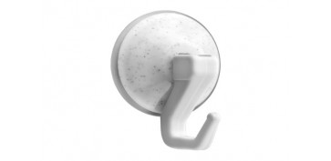 Topes y perchas adhesivas - COLGADOR VENTOSA ARTICULADO (BL 2U) Ø42MM