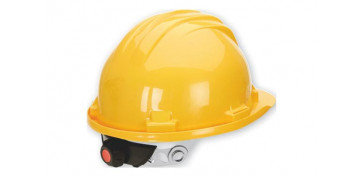 Proteccion de la cabeza - CASCO DE PROTECCIÓN CON REGULACION AMARILLO