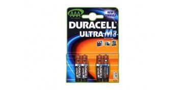 Pilas y baterías - PILA DURACELL M3 (BLIST. 4U) LR-03 MX2400