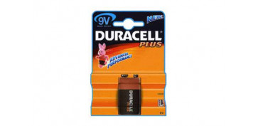 Pilas y baterías - PILA DURACELL PLUS POWER 6F22-9V-BL.1