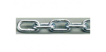Cables y cadenas - CADENA ZINCADA EN CAJA 4.0 MM