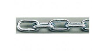 Cables y cadenas - CADENA ZINCADA EN CAJA 6.0 MM