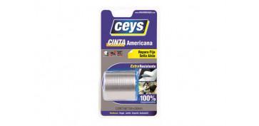 Adhesivos - CINTA AMERICANA TACKCEYS GRIS 5X50
